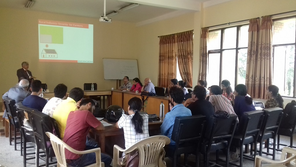 10. Guest lecture of Mr. Kaura S, Chairman Bergen Group India