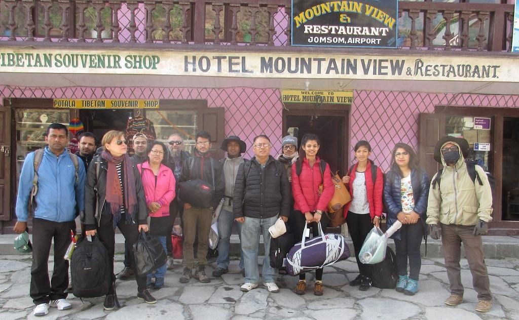 8. Field visit in Mustang