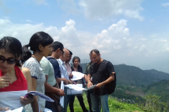 7. Field visit at Dhoksan village, Kavre